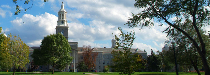 Hayes Hall on UB's South Campus